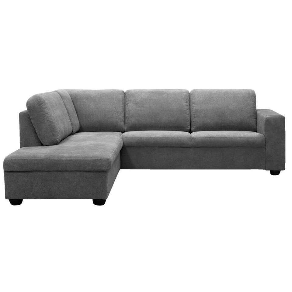 Canapé d'angle Baz gauche - couleur pierre