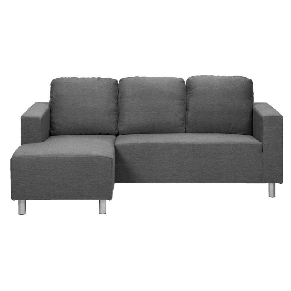 Canapé d'angle New York - gris foncé - angle 4é gauche