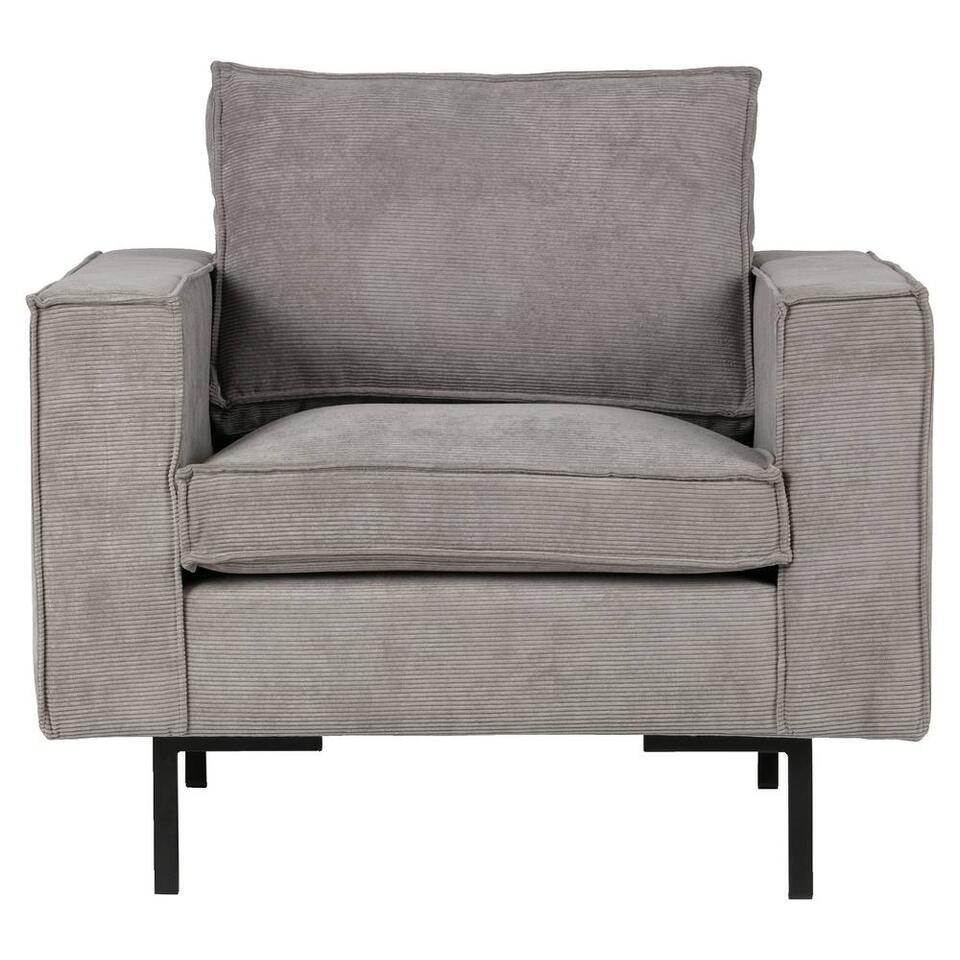 Woood fauteuil Arwin - vert grisâtre