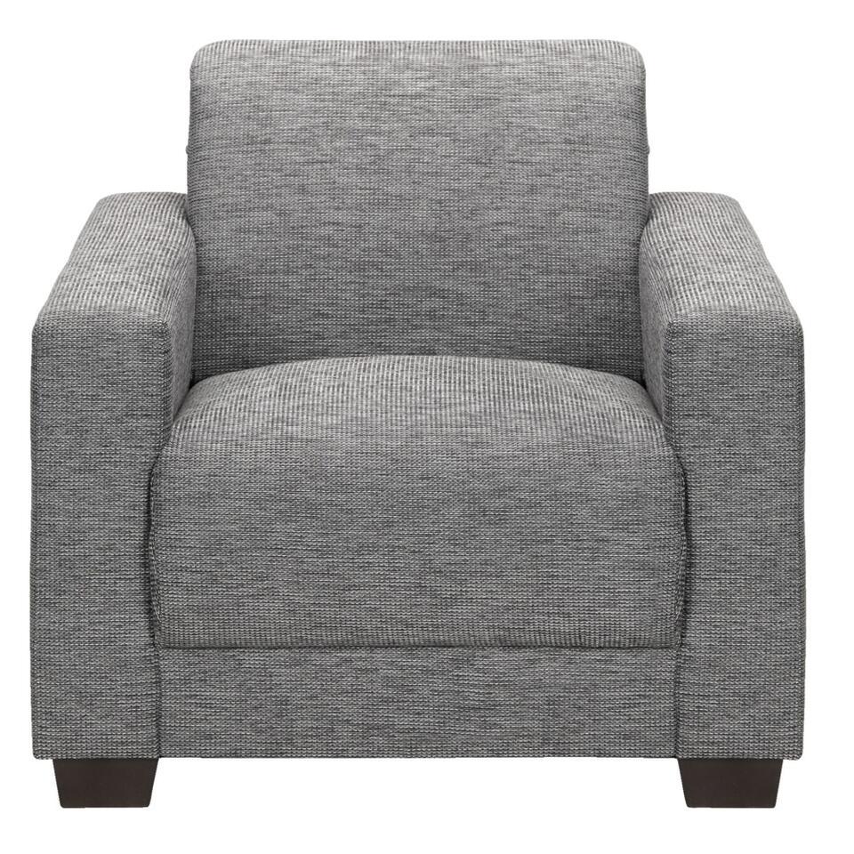 Vergis u niet in de eenvoudige vormgeving van de grijze fauteuil Aberdeen! Hij is comfortabel en heeft door het minimalistisch design ook veel mogelijkheden. Combineer en varieer door hem van een leuke plaid of kussen te voorzien.