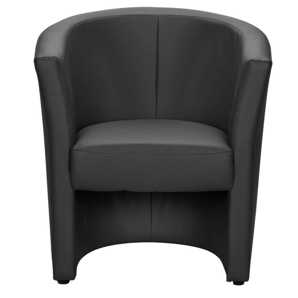 Le fauteuil Tygo a un look robuste et constitue un véritable atout pour votre intérieur. La chaise est parée d'un revêtement solide et facile à entretenir en similicuir.