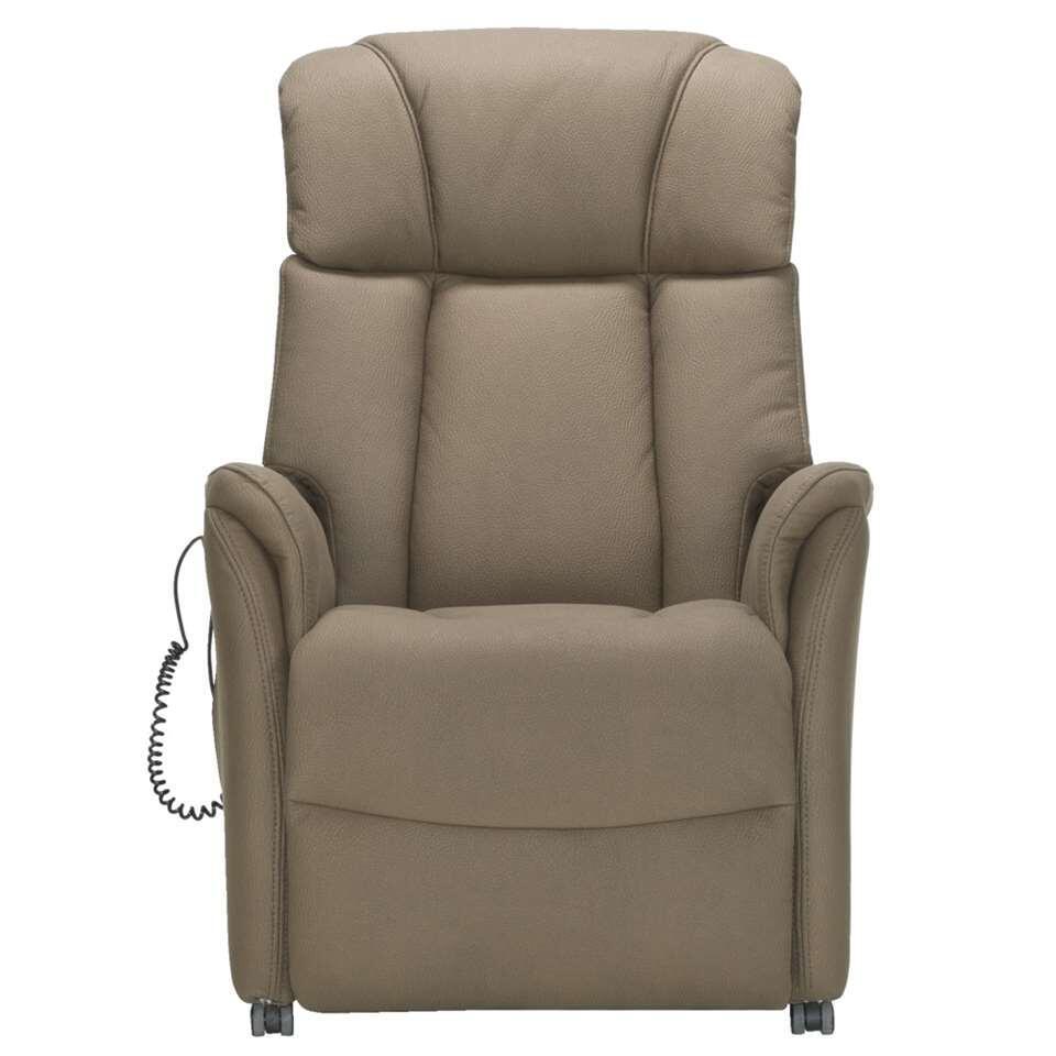 Relaxfauteuil Nebraska - stof - bruin