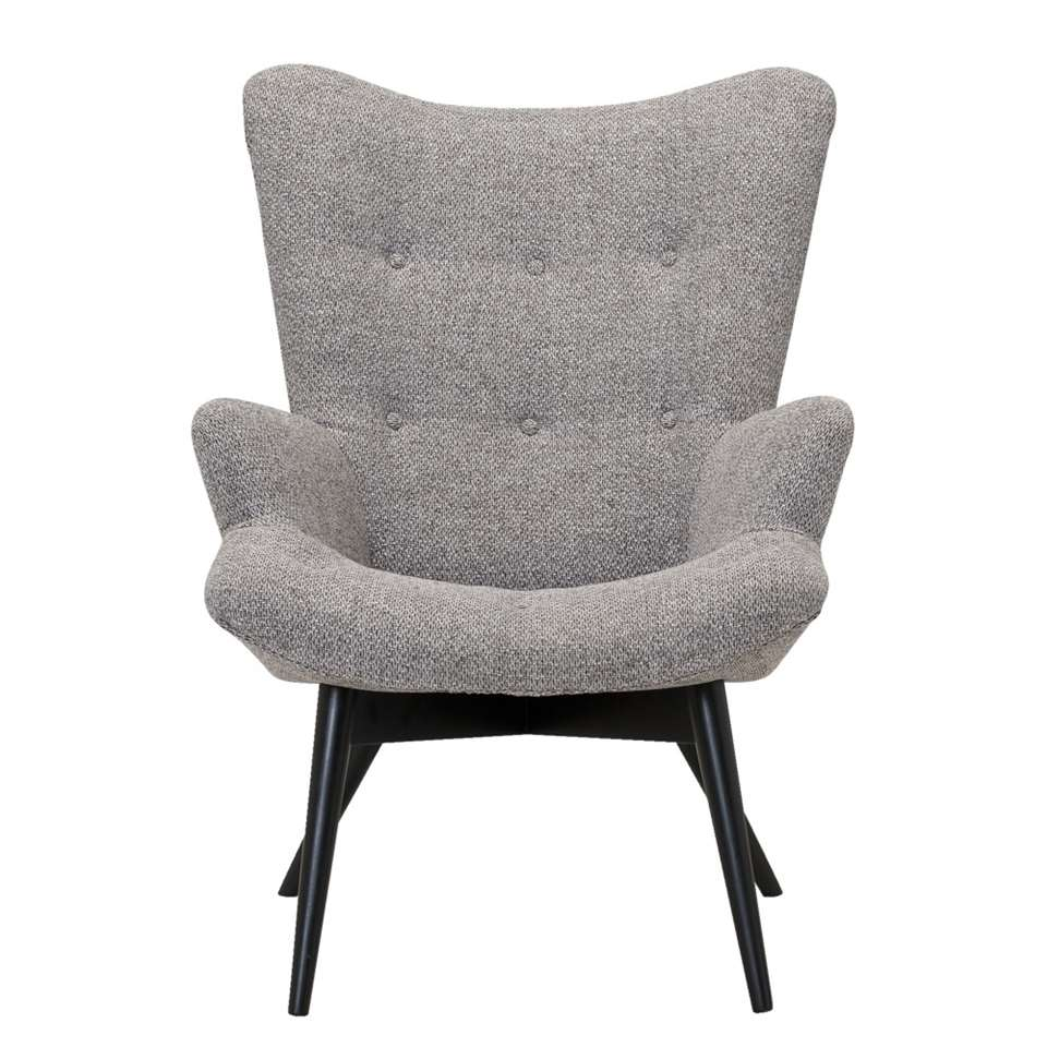 Fauteuil Arne - tissu - taupe