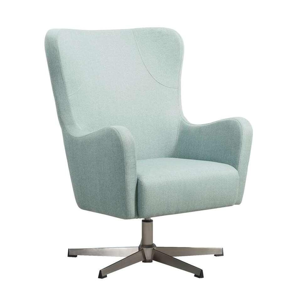 Relaxfauteuil Norrebro Valby - stof - groen