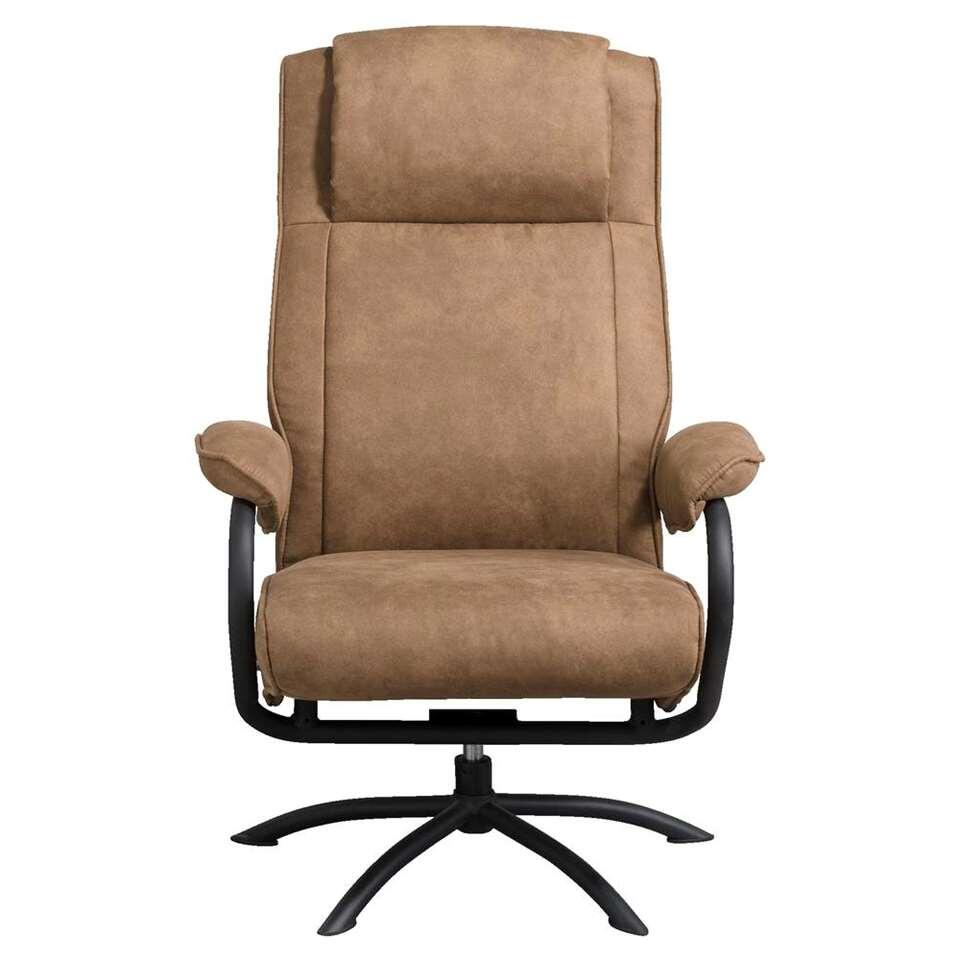 Fauteuil relax Vic - taupe