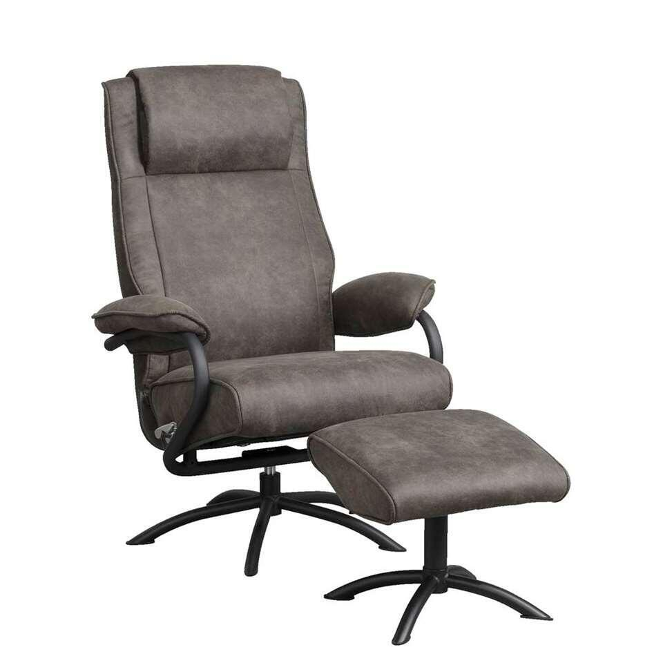 Fauteuil relax Vic - couleur anthracite