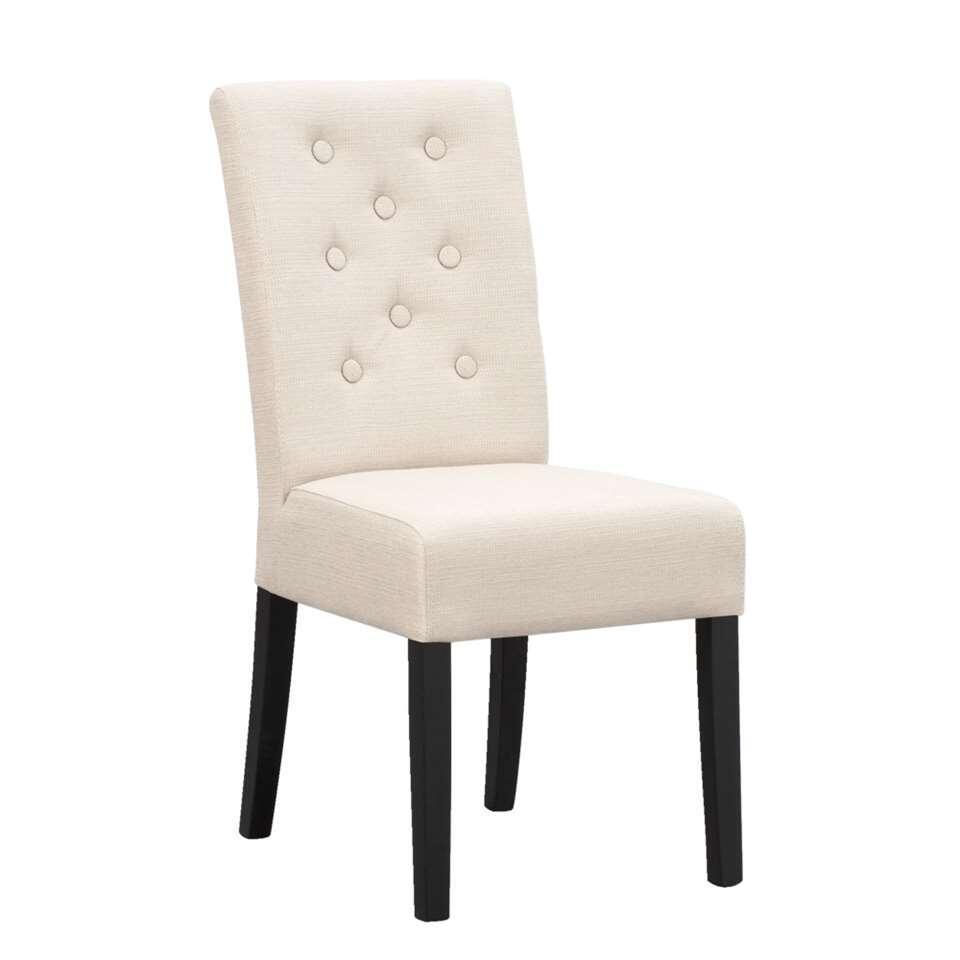 Chaise de salle manger annabel beige - Chaise beige salle a manger ...