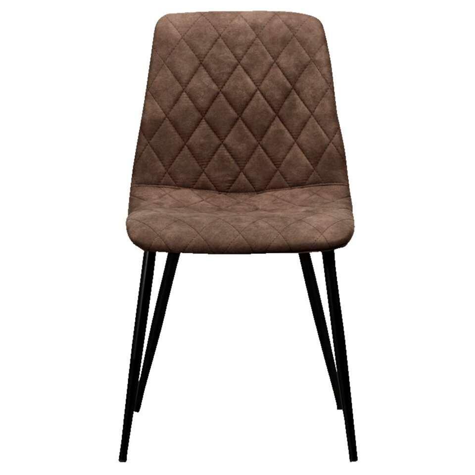 chaise mason tissu couleur moka. Black Bedroom Furniture Sets. Home Design Ideas