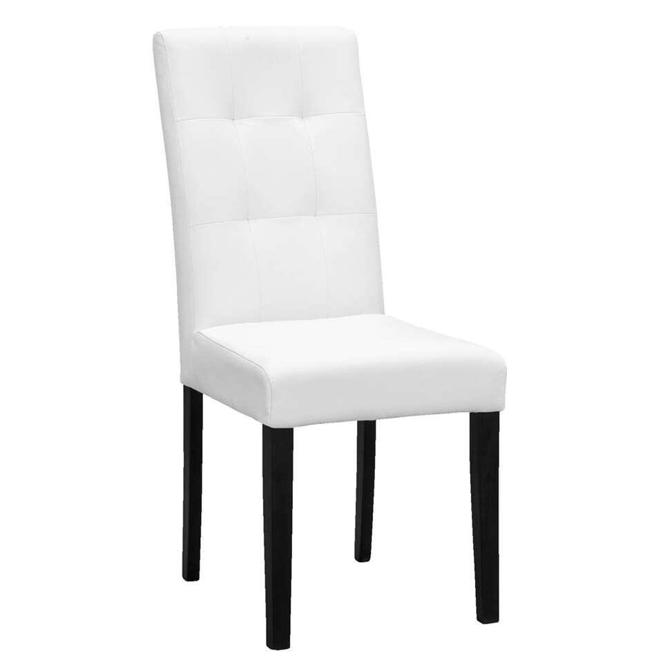 chaise de salle manger salerno ska blanche. Black Bedroom Furniture Sets. Home Design Ideas