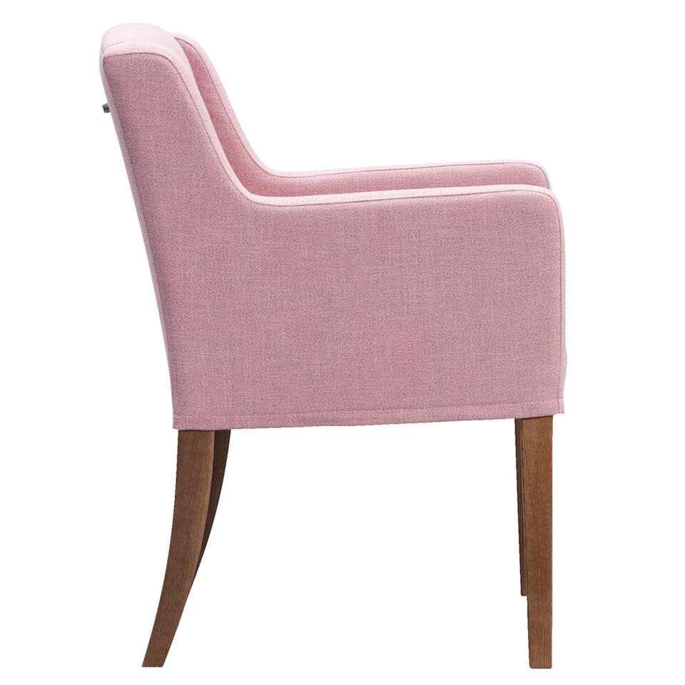 chaise manouk tissu rose. Black Bedroom Furniture Sets. Home Design Ideas