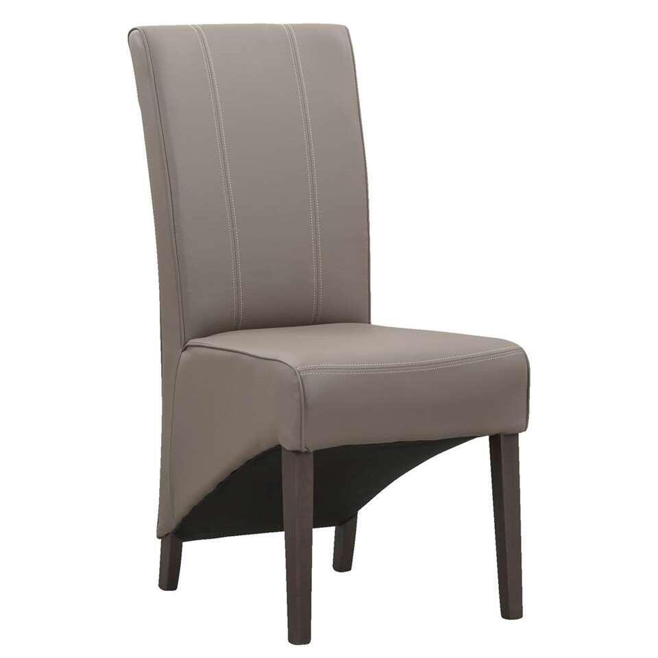 chaise de salle manger perry plastique taupe. Black Bedroom Furniture Sets. Home Design Ideas