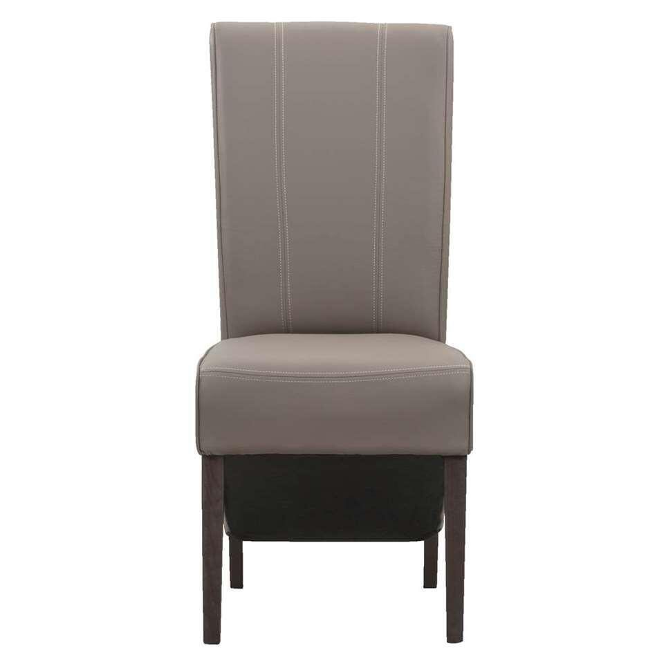 chaise de salle manger perry plastique taupe. Black Bedroom Furniture Sets. Home Design Ideas