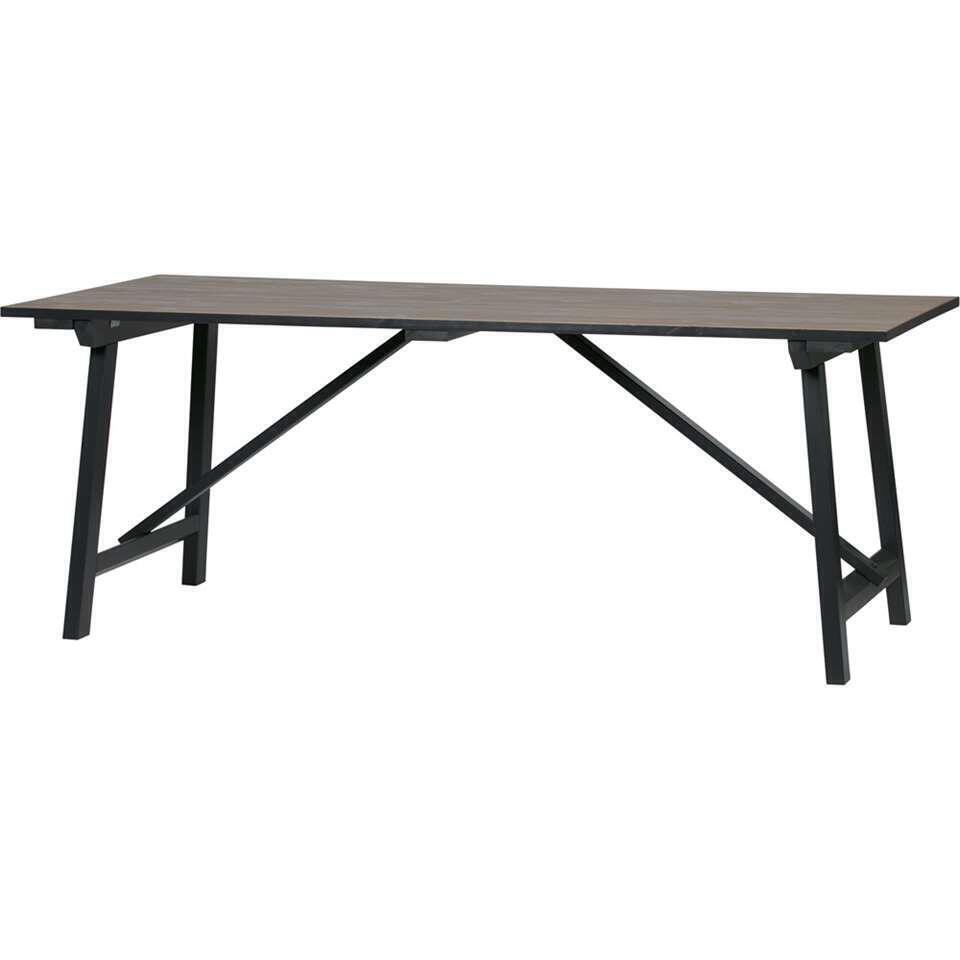 Woood table Derby - pin - 76x220x90 cm