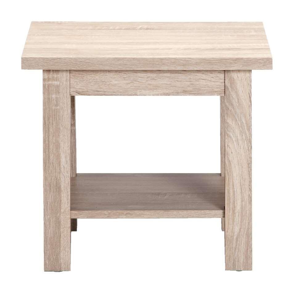 Table d\'appoint Denver - couleur chêne clair