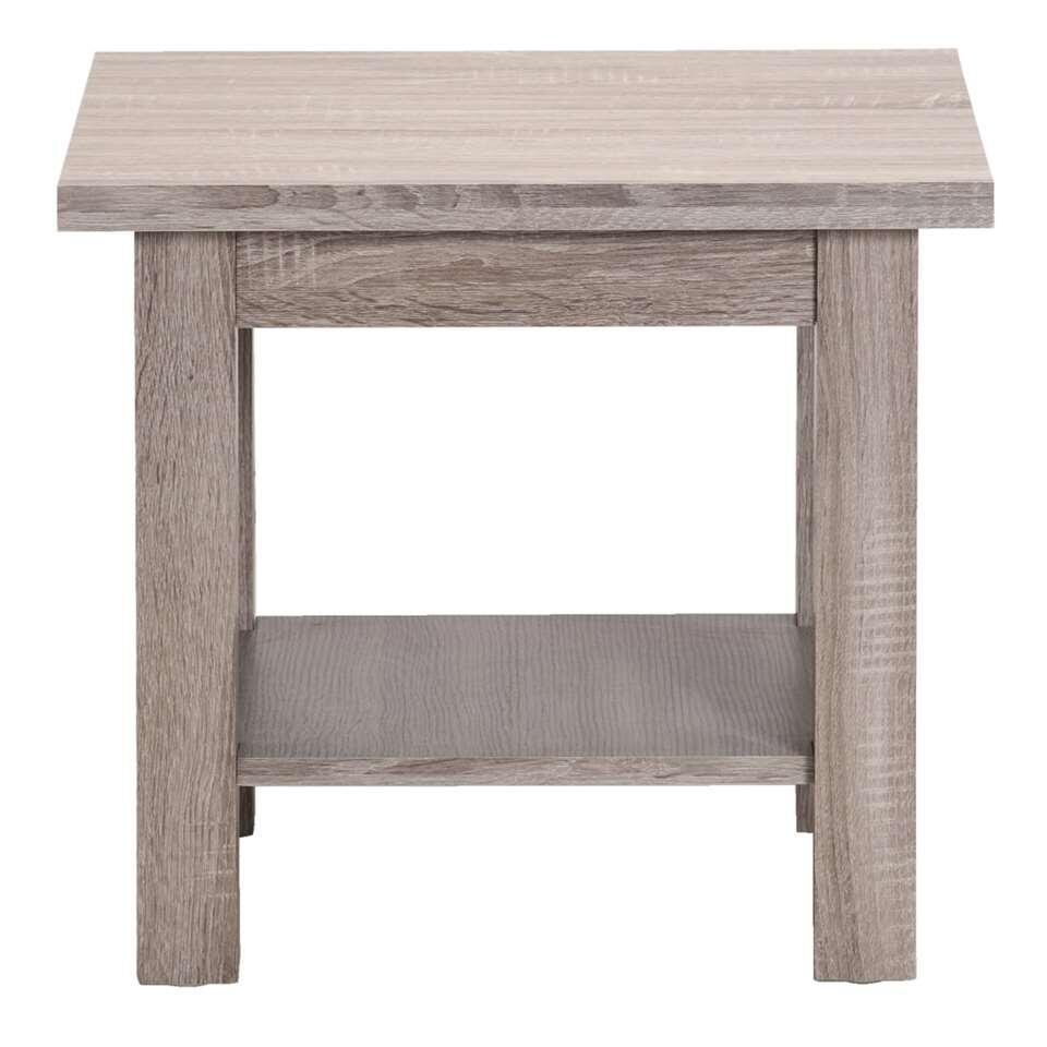 table d 39 appoint denver couleur ch ne gris. Black Bedroom Furniture Sets. Home Design Ideas