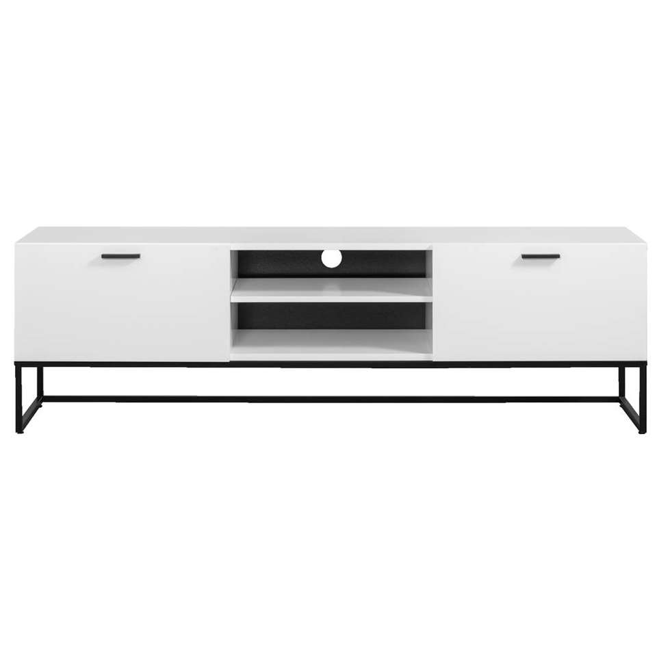 Dressoir Tv Kast Wit.Tv Meubel Kioto Wit 58x176x43 Cm