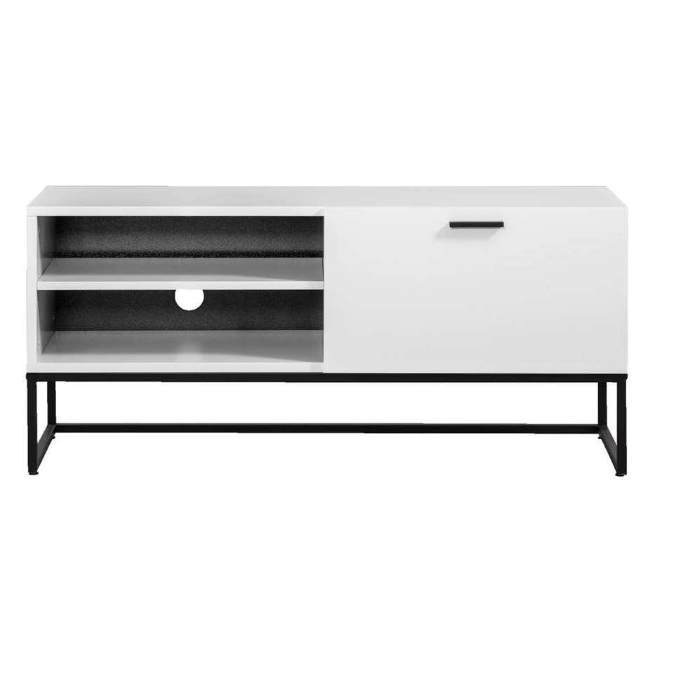 Tv-meubel Kioto - wit - 58x118x43 cm