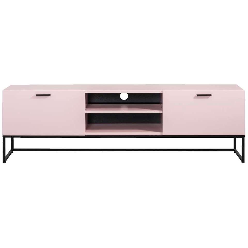 Tv-meubel Kioto - roze - 58x176x43 cm