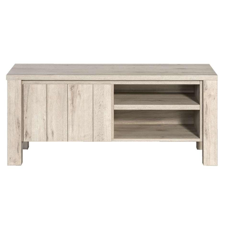 TV-dressoir Jens - grijseiken - 52x118x50 cm