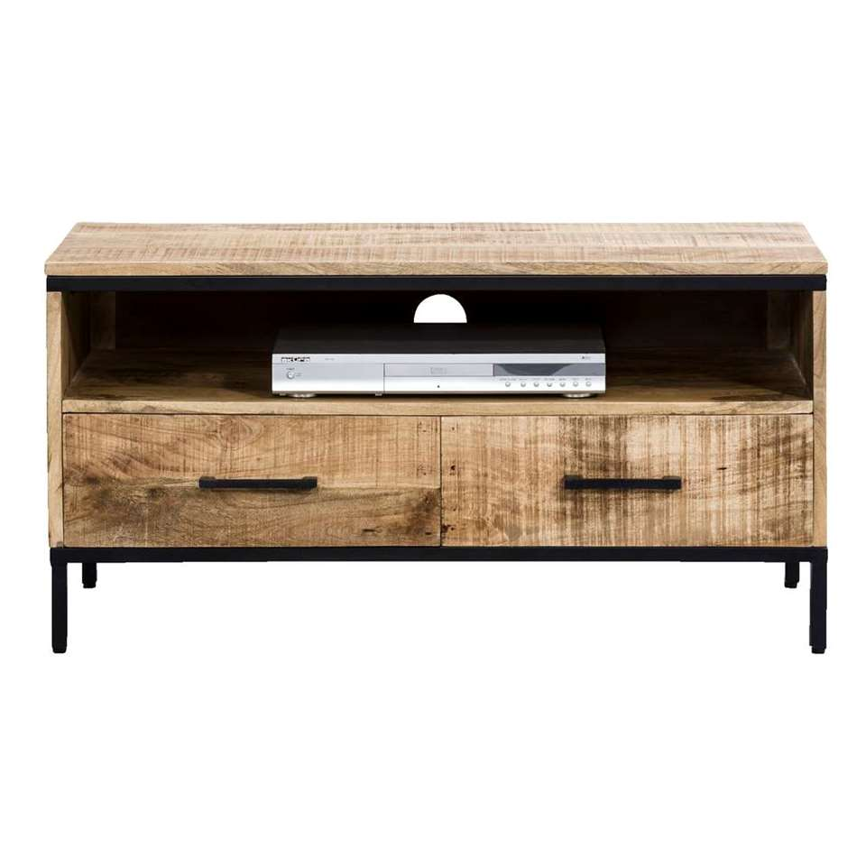TV-meubel Trevor - bruin - 50x100x45 cm