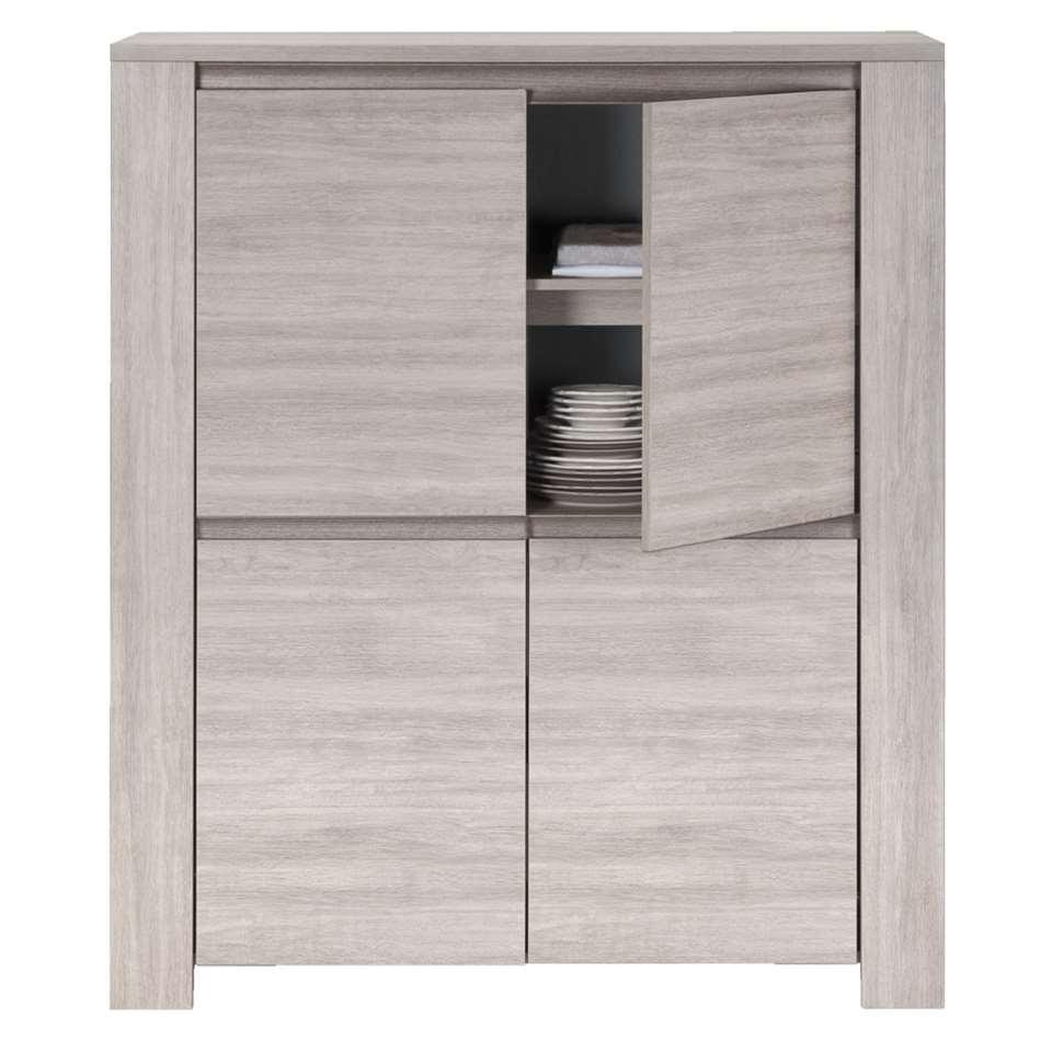 armoire yannick couleur chne gris