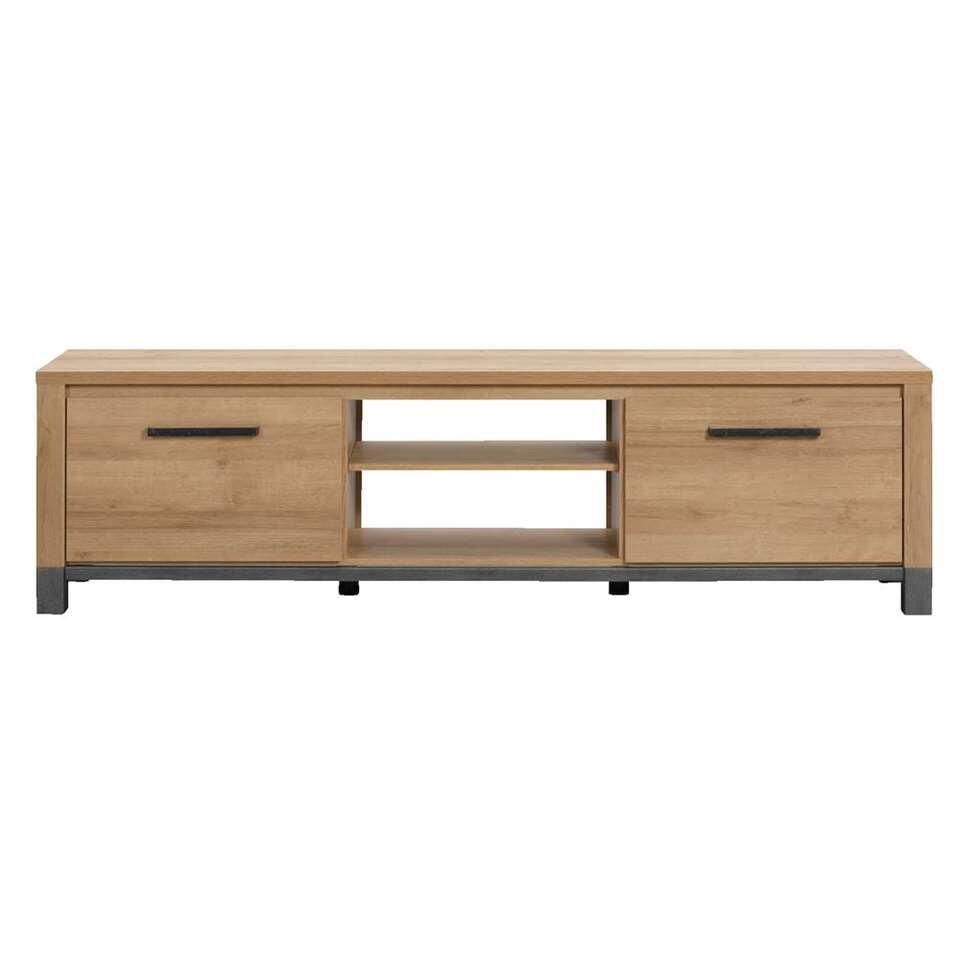 TV-dressoir Finn - licht eikenkleur - 52x188x40 cm