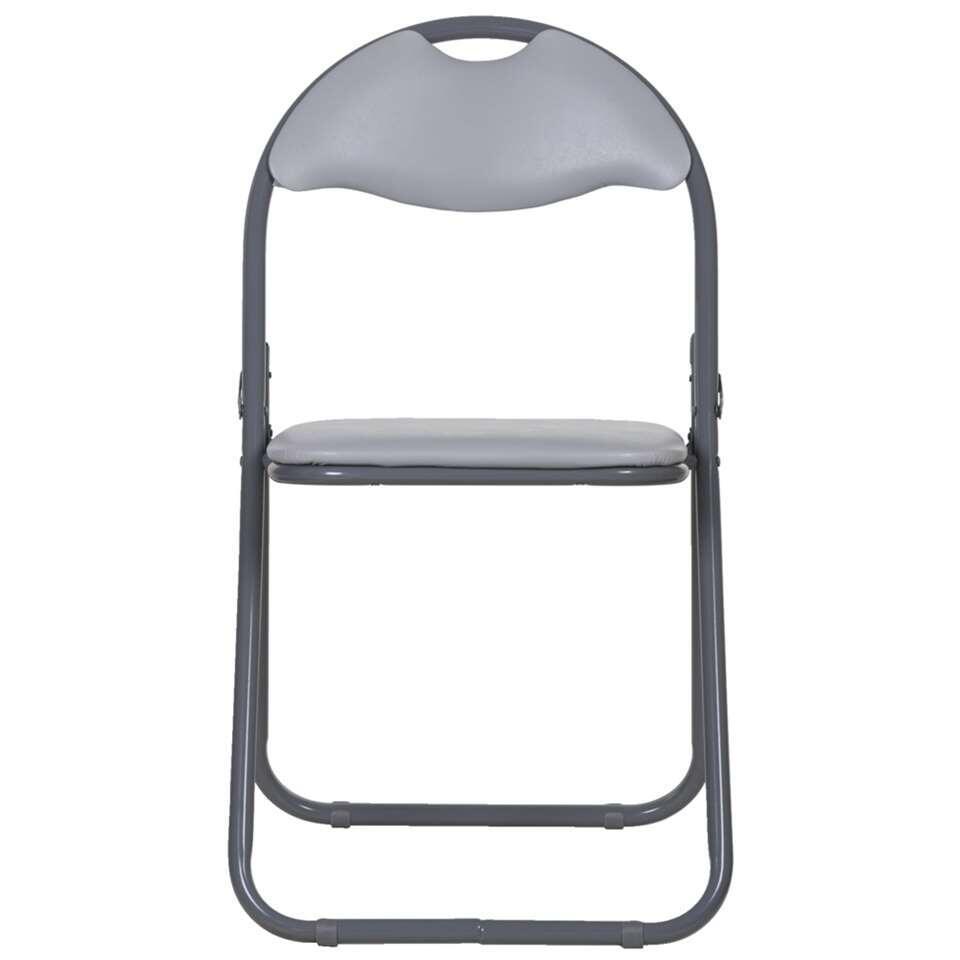 Chaise pliante Meppel - grise