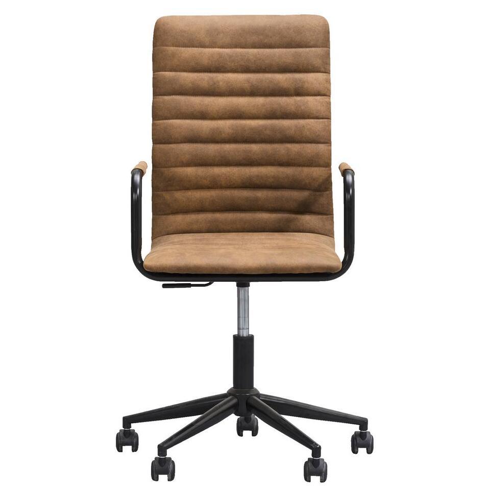 Chaise de bureau Kyan - couleur de chameau