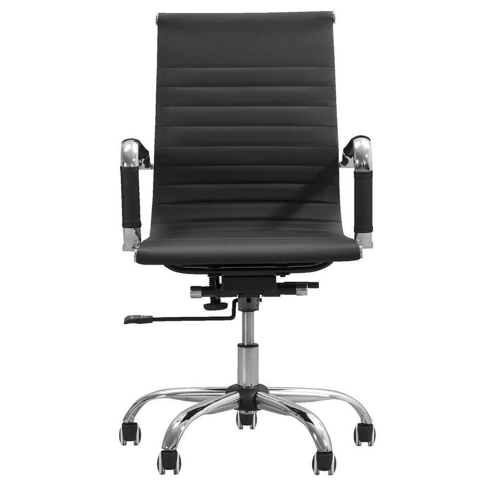 Chaise de bureau Manhattan - noire