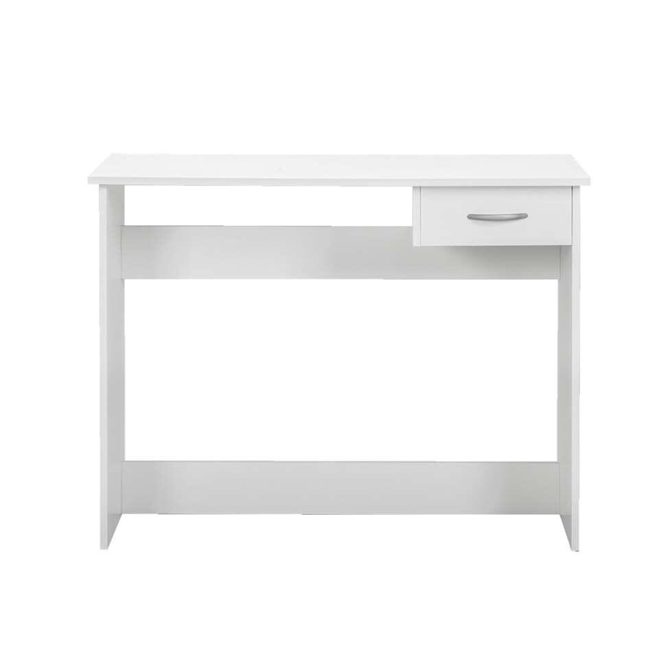 Le bureau Promo est un bureau blanc pratique, avec un tiroir supplémentaire pour le rangement de toutes vos choses. Ce bureau est conçu pour dans un chambre d'enfant.