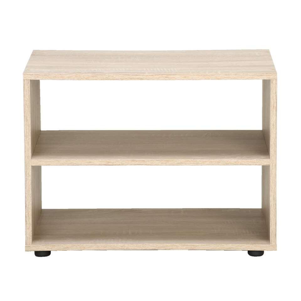 meuble tv vancouver couleur ch ne 45x60x39 cm. Black Bedroom Furniture Sets. Home Design Ideas