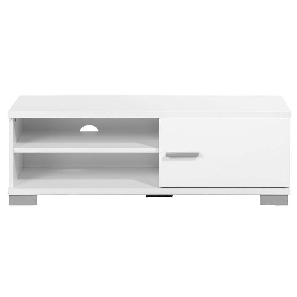 Dressoir TV Boston - blanc brillant - 35x100x40 cm