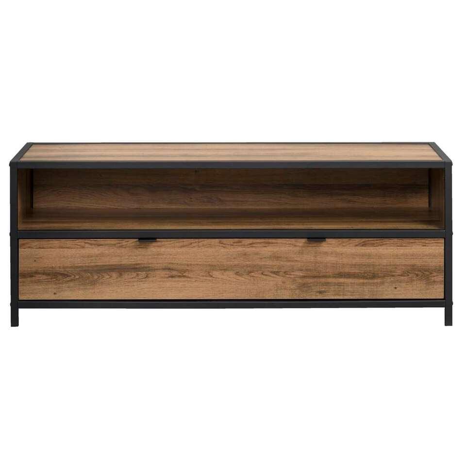 Dressoir TV Bodhi - brun/noir - 45x120x39 cm
