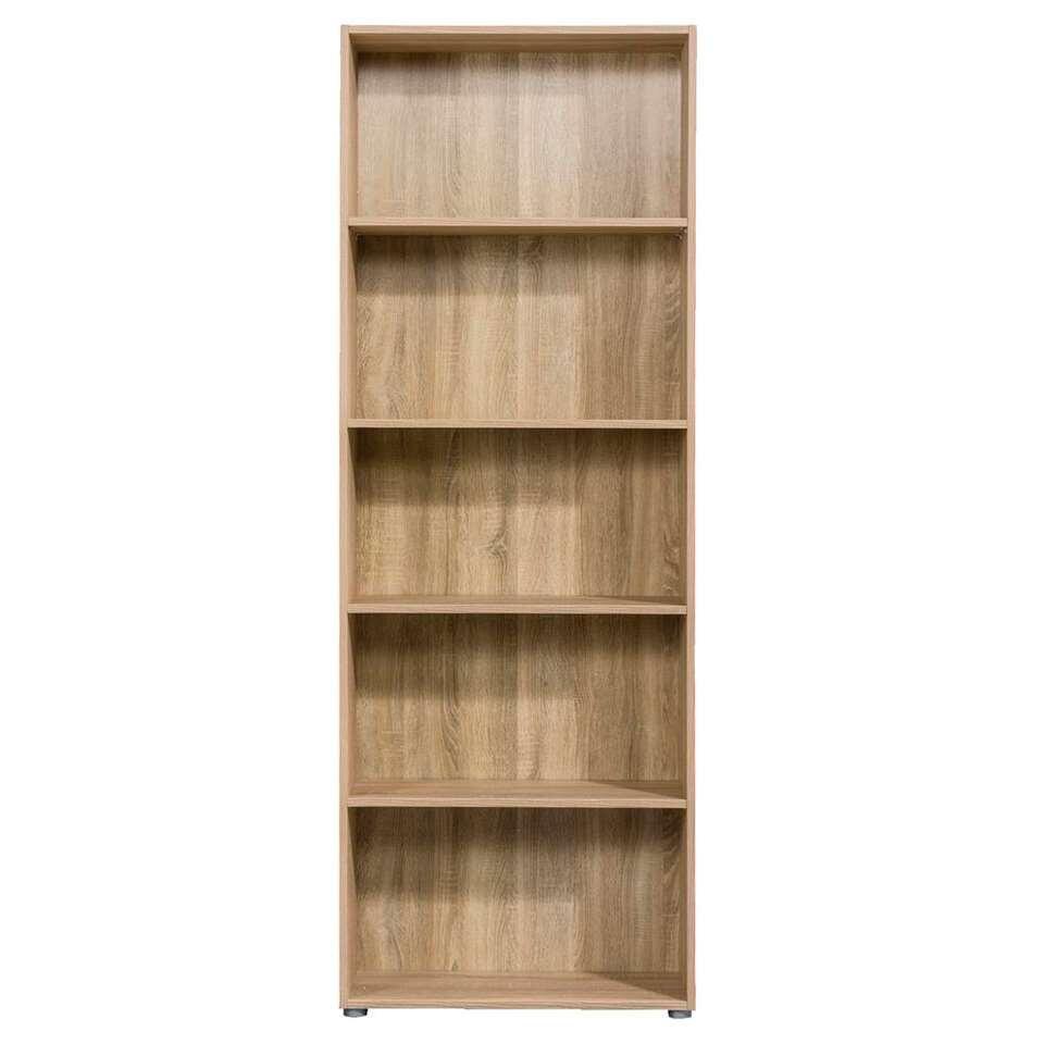 Boekenkast Rome - eikenkleur - 197x70x29,8 cm