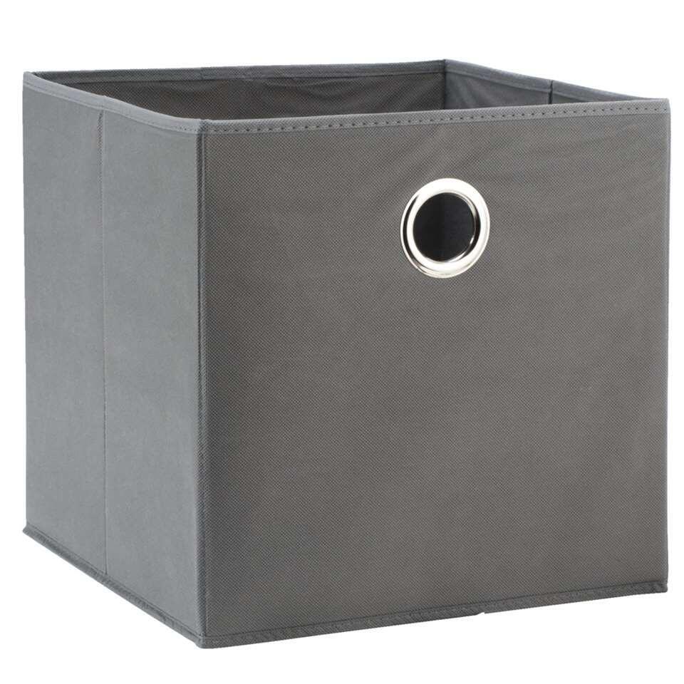 Opbergbox Parijs is een moderne, grijze opbergdoos voor allerlei spullen. Je kunt deze opbergbox bijvoorbeeld gebruiken in een kast en er losse spullen in bewaren. Zo krijg je overzicht en vind je alles gemakkelijk terug.