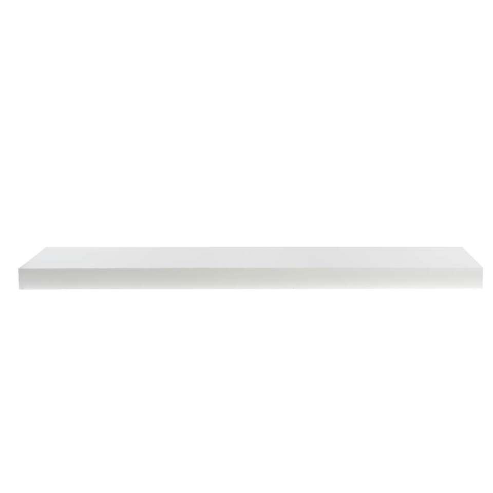 Wandplank 30 Cm.Wandplank Wit 3 8x80x23 5 Cm