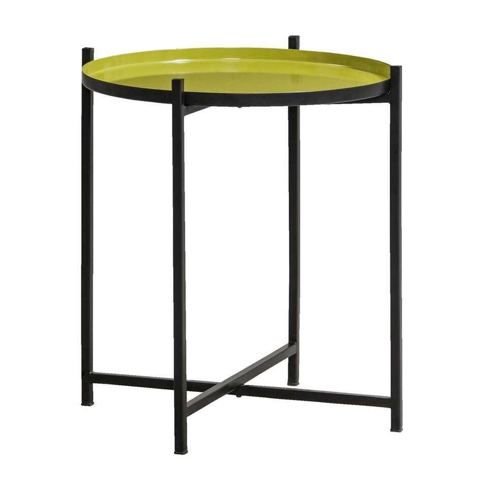 Table d'appoint Cambridge - verte/noire - 45xØ43cm