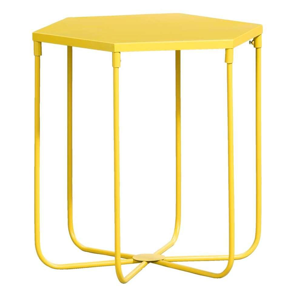 Table D Appoint Lund Jaune 45x45x39 Cm