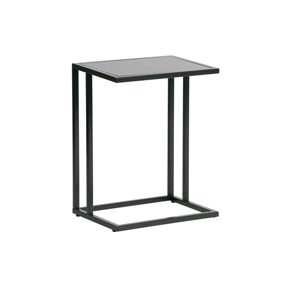Woood table d'appoint Jasmin - noire - 60x45x35 cm