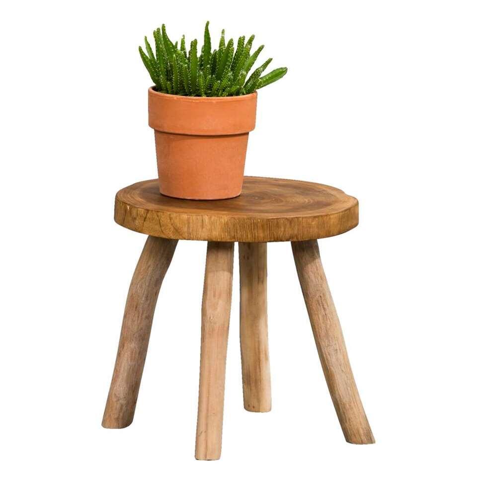 table pour plantes ferre brune 30x 30 cm. Black Bedroom Furniture Sets. Home Design Ideas
