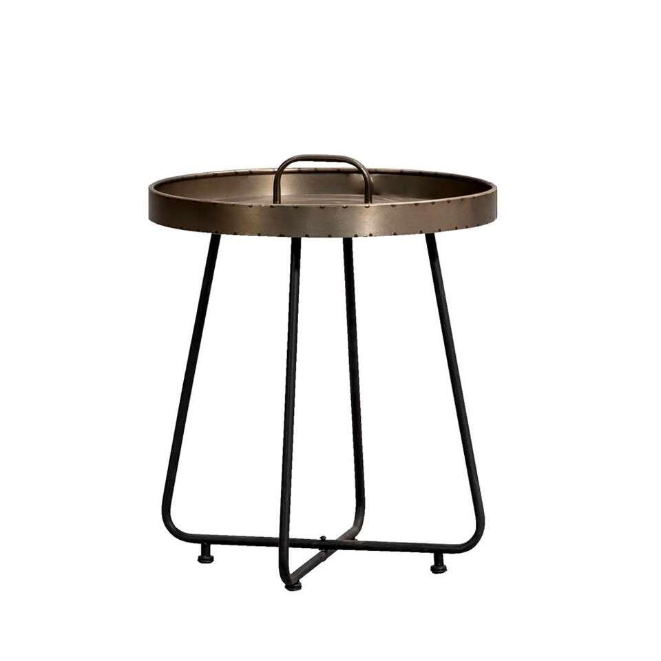 Light & Living Table d'appoint Nathan - 49,5xØ45 cm