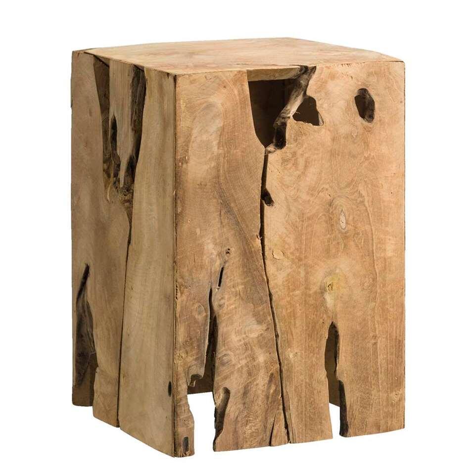 Bois Recyclé Bloc Fenn Décoratif 35x25x25 Cm QrshtdC