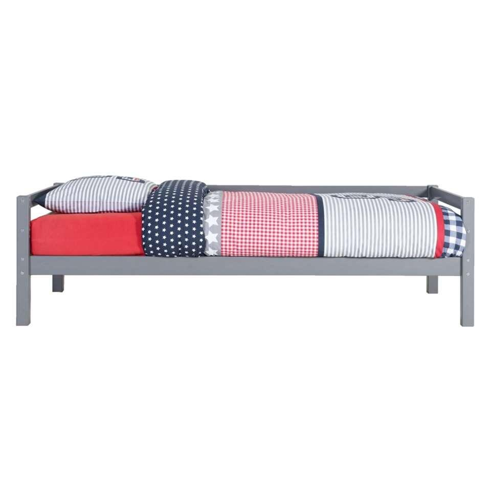 Bed Ties - antraciet - 90x200 cm
