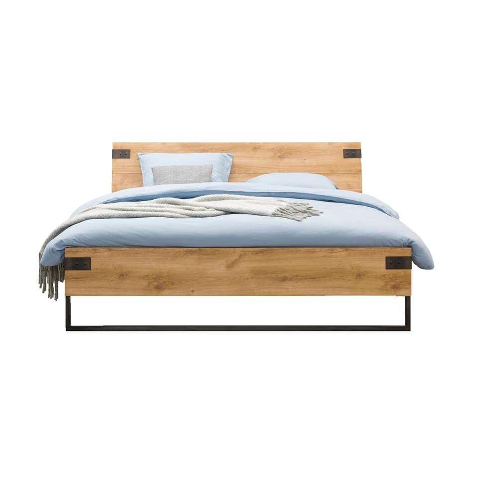 Bed Dex - grafiet - 160x200 cm