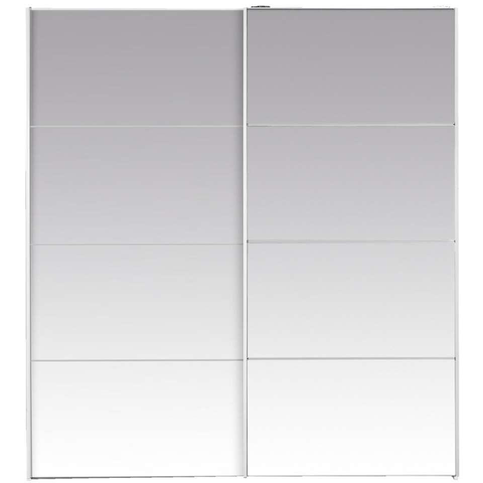 Armoire à portes coulissantes Verona - miroir - 200x182x64 cm