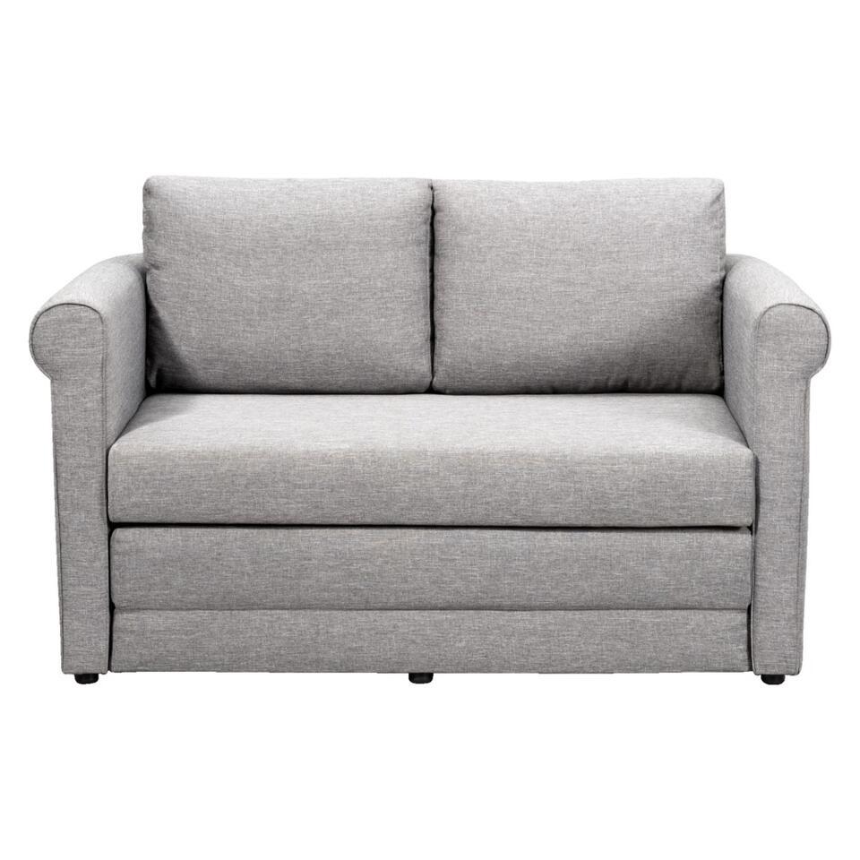 Canapé convertible Femke est un canapé confortable. Idéal pour des hôtes. Le canapé a un look rustique et romantique. En rabattant le siège, on obtient un lit agréablement doux en un tournemain.