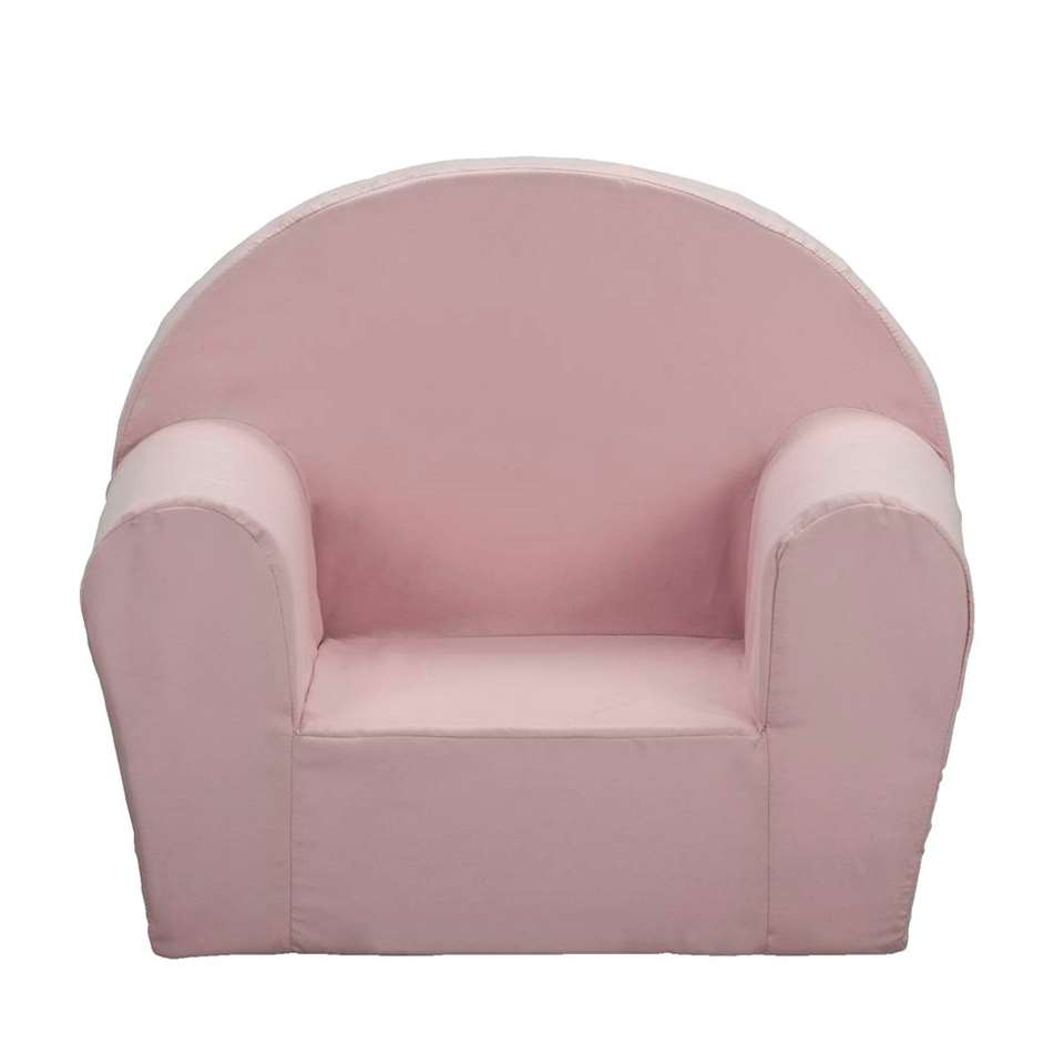 Chaise d'enfant Louis - rose - 44x53x36 cm