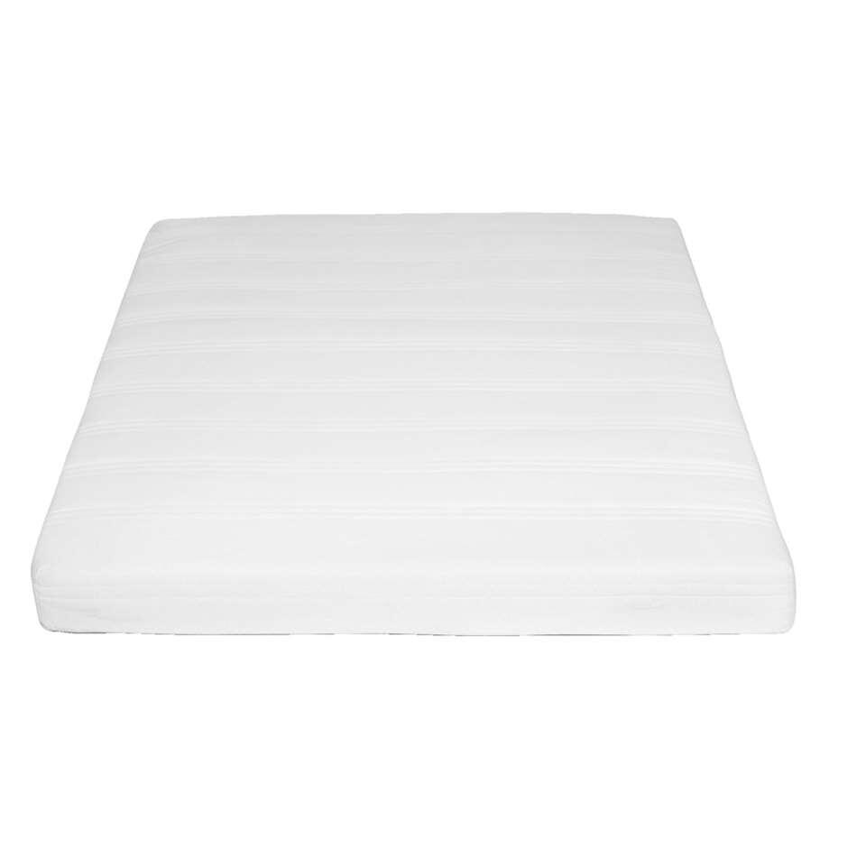 Pour un sommeil réparateur, optez pour le matelas à ressorts Sydney. Ce matelas solide a une épaisseur de 16 cm, un revêtement en polyester et une bonne régulation de l'humidité. Disponible en différentes dimensions.