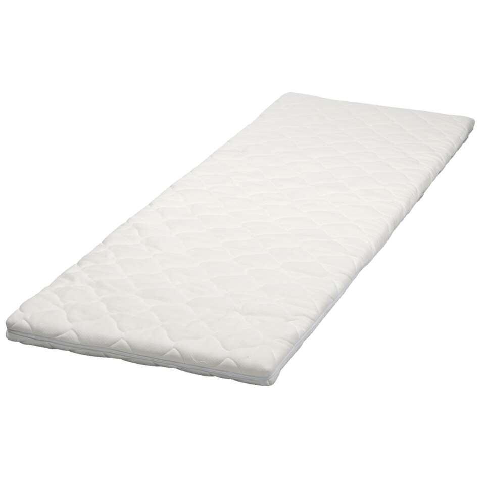 Grâce au surmatelas l2âgance, vous passez de meilleures nuits. Le noyau du surmatelas est en mousse à m2âmoire de forme, et s'adapte donc au poids de votre corps.