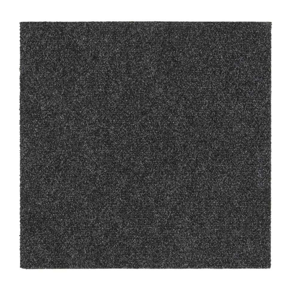 ENKEL ONLINE VERKRIJGBAAR. Tegel Andes is een antracieten tapijttegel. Deze tegel heeft afmetingen van 50x50 cm, en is ook verkrijgbaar in het blauw en beige. De tapijttegel wordt per stuk verkocht.